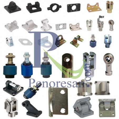 لوازم جانبی جک پنوماتیک acessorios-cylinder