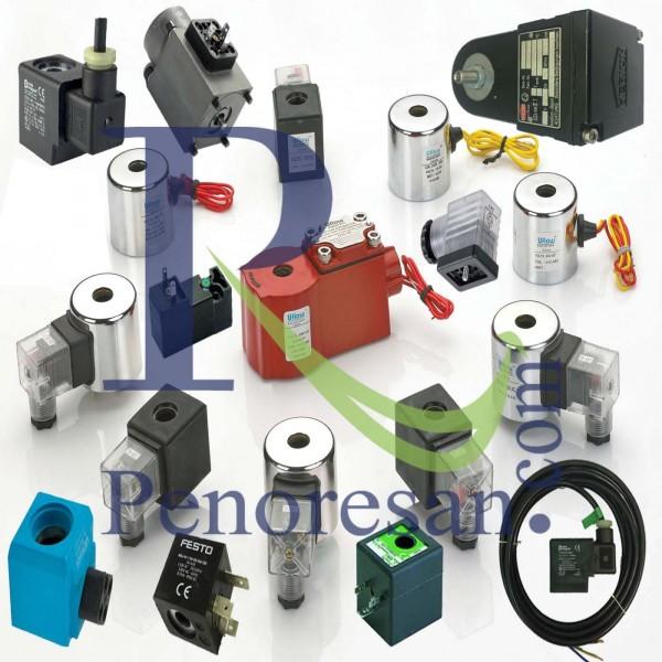 انواع بوبین وسوکت هیدرولیک پنوماتیک(coil)