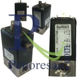شیر برقی استیل بروکرت BURKERT آلمان مدل 0330